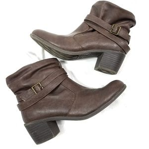 American Eagle Slouch Ankle Boot